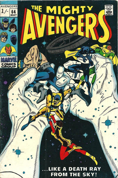 Cover for The Avengers (Marvel, 1963 series) #64 [Regular Edition]