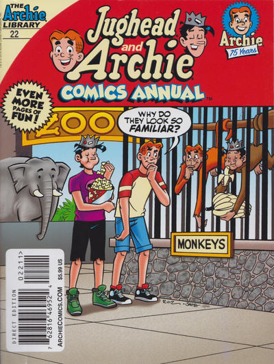 Cover for Jughead and Archie Double Digest (Archie, 2014 series) #22
