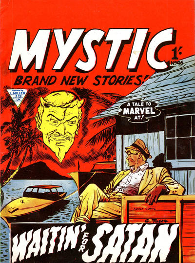 Cover for Mystic (L. Miller & Son, 1960 series) #46
