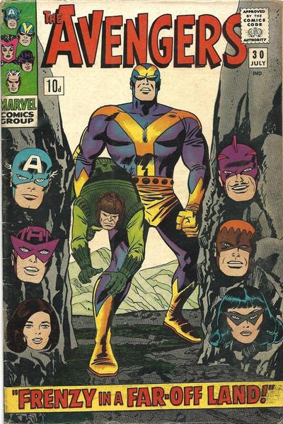Cover for The Avengers (Marvel, 1963 series) #30 [Regular Edition]