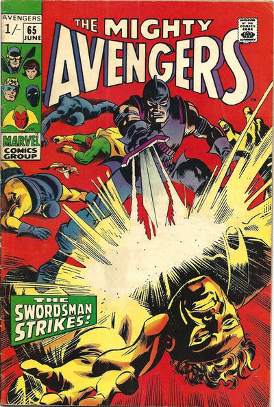 Cover for The Avengers (Marvel, 1963 series) #65 [Regular Edition]
