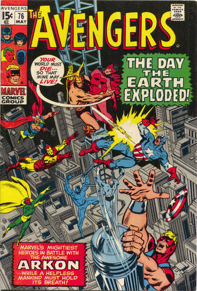 Cover for The Avengers (Marvel, 1963 series) #76 [Regular Edition]
