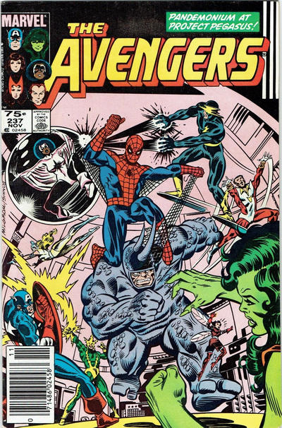 Cover for The Avengers (Marvel, 1963 series) #237 [Newsstand Edition]