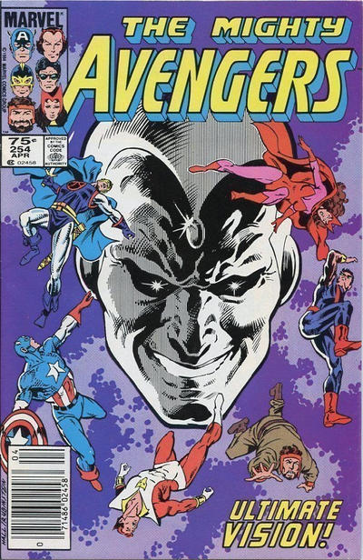Cover for The Avengers (Marvel, 1963 series) #254 [Direct Edition]
