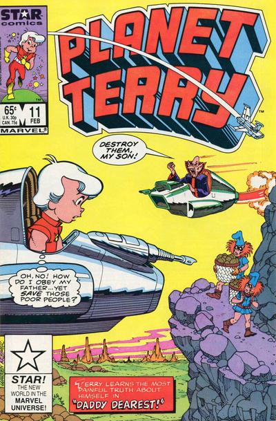 Cover for Planet Terry (Marvel, 1985 series) #11 [Newsstand]