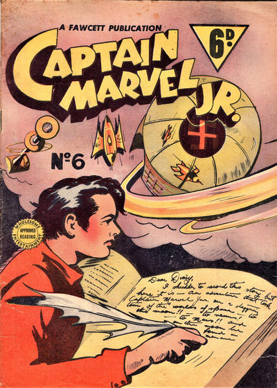 Cover for Captain Marvel Jr. (Cleland, 1947 series) #6