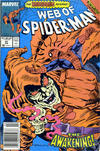Cover for Web of Spider-Man (Marvel, 1985 series) #47 [Newsstand]