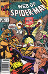 Cover Thumbnail for Web of Spider-Man (1985 series) #59 [Newsstand Edition]