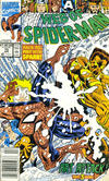 Cover Thumbnail for Web of Spider-Man (1985 series) #75 [Newsstand]