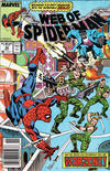 Cover for Web of Spider-Man (Marvel, 1985 series) #44 [Newsstand]