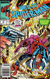 Cover for Web of Spider-Man (Marvel, 1985 series) #43 [Newsstand Edition]