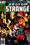 Cover Thumbnail for Doctor Strange (1974 series) #42 [Newsstand Edition]