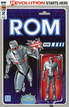 Cover for ROM (IDW, 2016 series) #2 [Adam Riches - Action Figure Cover]