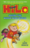 Cover for Hilo (Random House, 2015 series) #2 - Saving the Whole Wide World
