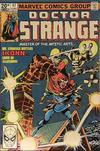 Cover for Doctor Strange (Marvel, 1974 series) #47 [British Price Variant]