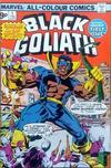 Cover Thumbnail for Black Goliath (1976 series) #1 [British Price Variant]
