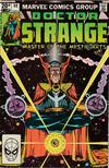 Cover for Doctor Strange (Marvel, 1974 series) #49 [British Price Variant]