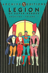 Cover Thumbnail for The Legion of Super-Heroes Archives (DC, 1991 series) #1 [2nd Printing]