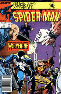 Cover Thumbnail for Web of Spider-Man (Marvel, 1985 series) #29 [Newsstand Edition]