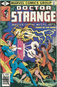 Cover Thumbnail for Doctor Strange (Marvel, 1974 series) #38 [Direct Edition]