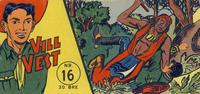 Cover Thumbnail for Vill Vest (Serieforlaget / Se-Bladene / Stabenfeldt, 1953 series) #16/1957
