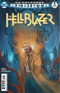 Cover Thumbnail for Hellblazer (DC, 2016 series) #1