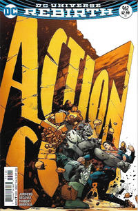 Cover Thumbnail for Action Comics (DC, 2011 series) #962 [Clay Mann Cover Variant]