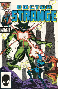 Cover Thumbnail for Doctor Strange (Marvel, 1974 series) #77 [Direct Edition]