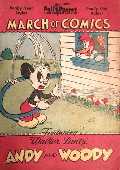 Cover for Boys' and Girls' March of Comics (Western, 1946 series) #40