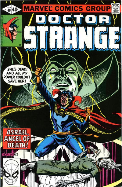 Cover for Doctor Strange (Marvel, 1974 series) #40 [Direct Edition]