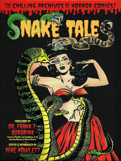 Cover for The Chilling Archives of Horror Comics! (IDW, 2010 series) #15 - Snake Tales