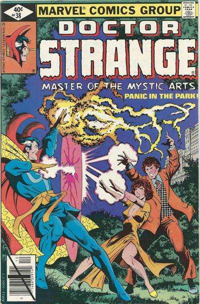 Cover for Doctor Strange (Marvel, 1974 series) #38 [Direct Edition]