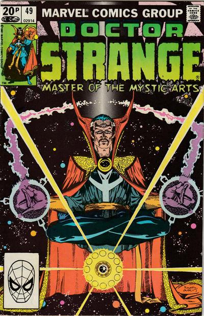 Cover for Doctor Strange (Marvel, 1974 series) #49 [Regular Edition]