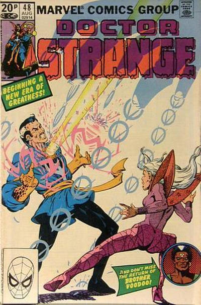 Cover for Doctor Strange (Marvel, 1974 series) #48 [Direct Edition]