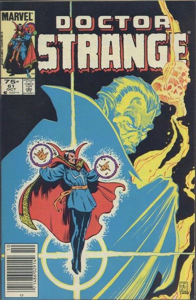 Cover for Doctor Strange (Marvel, 1974 series) #61 [Direct Edition]