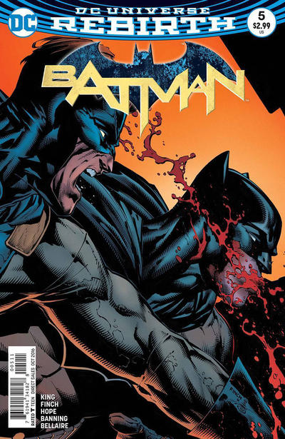Cover for Batman (DC, 2016 series) #5 [Tim Sale Cover]