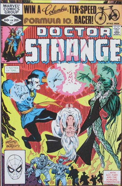Cover for Doctor Strange (Marvel, 1974 series) #51 [Direct Edition]