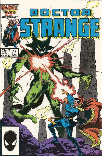 Cover for Doctor Strange (Marvel, 1974 series) #77 [Direct Edition]