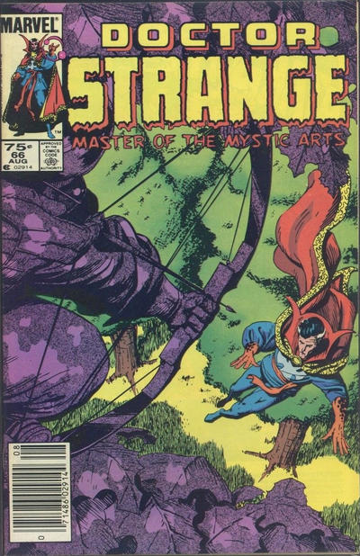 Cover for Doctor Strange (Marvel, 1974 series) #66 [Direct Edition]