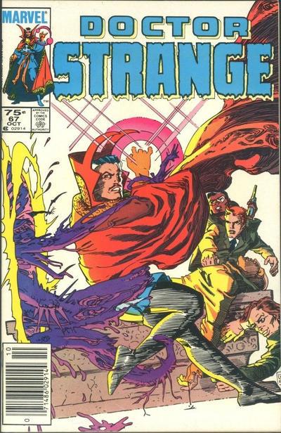 Cover for Doctor Strange (Marvel, 1974 series) #67 [Direct Edition]