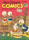 Cover for Walt Disney's Comics (W. G. Publications; Wogan Publications, 1946 series) #14