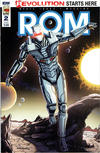 Cover for ROM (IDW, 2016 series) #2 [Bob Layton Cover]