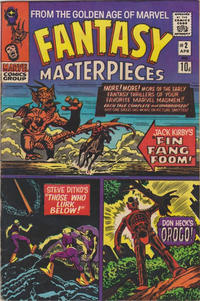 Cover Thumbnail for Fantasy Masterpieces (Marvel, 1966 series) #2 [British]