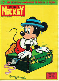 Cover Thumbnail for Le Journal de Mickey (Hachette, 1952 series) #643