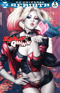 Cover Thumbnail for Harley Quinn (DC, 2016 series) #1 [Legacy Edition Exclusive Artgerm Color Variant]
