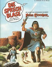 Cover Thumbnail for Die Sprechblase (Norbert Hethke Verlag, 1978 series) #82