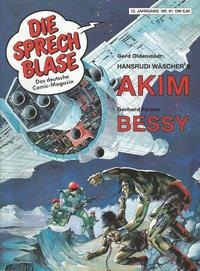 Cover Thumbnail for Die Sprechblase (Norbert Hethke Verlag, 1978 series) #81