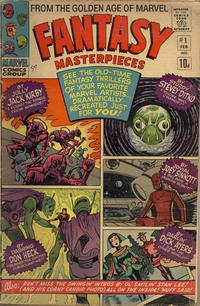 Cover Thumbnail for Fantasy Masterpieces (Marvel, 1966 series) #1 [British]