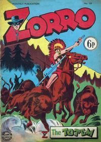 Cover Thumbnail for Zorro (L. Miller & Son, 1952 series) #59