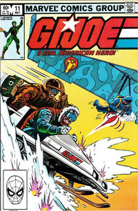 Cover Thumbnail for G.I. Joe, A Real American Hero (Marvel, 1982 series) #11 [Direct Edition]